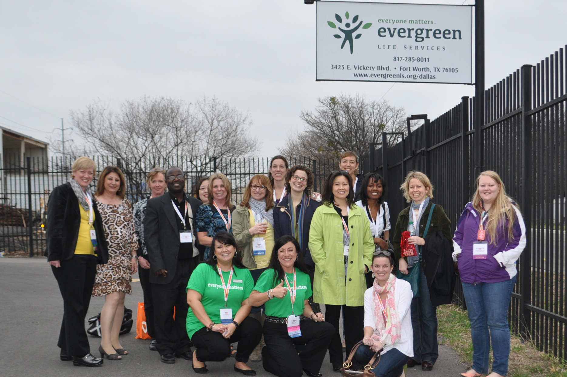 Photos from the NAEA tour at Evergreen's Cultural Arts Center in Ft. Worth, TX