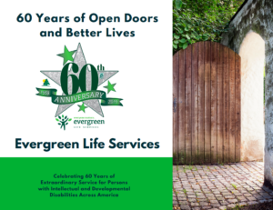 60 Years at Evergreen Life Services Booklet